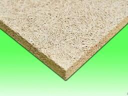 Acoustic fibrolite plates/Matériaux en fibrolite