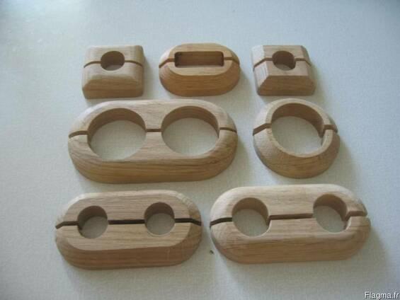 Декоративные накладки на трубы (деревянные)