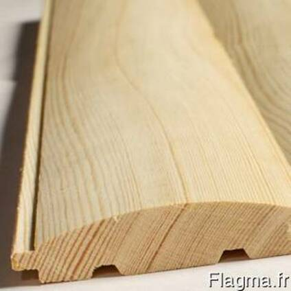 Фальш-брус (блок-хауз) прямой, плоский, овальный