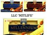 Молочный Шоколад Millennium с орехом Nut LLC Mitlife - фото 1