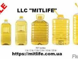 Подсолнечное масло рафинированное Украина LLC Mitlife