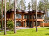 Дома из бруса профилированного и оцилиндрованного бревна. Строительство и проектирование - photo 1