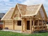 Дома из бревна оцилиндрованного - фото 1
