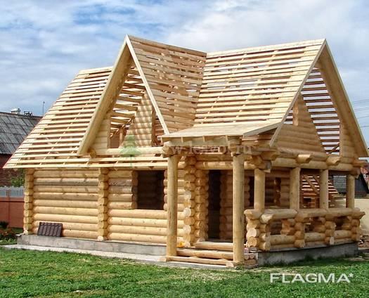 Дома из бревна оцилиндрованного