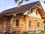 Дома из бревна рубленного любой сложности - фото 1