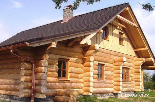 Дома из бревна рубленного любой сложности