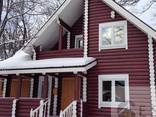 Дома из бруса профилированного и оцилиндрованного бревна. Строительство и проектирование - photo 6