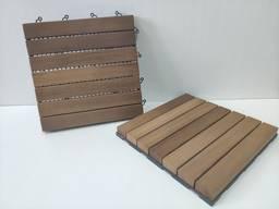 Garden parquet (decking)