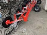 Грабли колесно-пальцевые линейные GSR-11 - фото 3