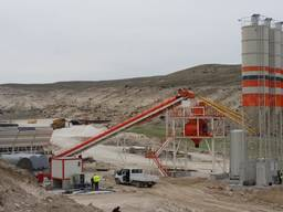 MVS100S Stationary Concrete Batching Plant