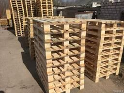 Поддоны деревянные новые - фото 3