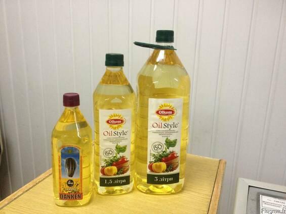 Подсолнечное элитное высокоолеиновое масло