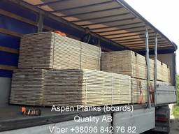 Sell sawn timber, edged planks, blanks Aspen - фото 2