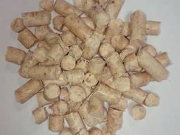 Wood fuel pellets, 8 mm, premium